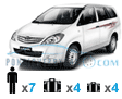 pondicherry car rental innova